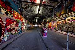 Leake Street Tunnel, London (IFM Photographic) Tags: img2770a canon 600d tamron 1024mm 1024mmf3545diiivchld tamron1024mmf3545diiivchld f3545 di ii vc hld leakestreet leakestreettunnel graffitistreet graffiti street tunnel art waterloo london londonboroughoflambeth lambeth