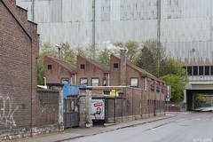 Rue Gustave Baivy (Tim Boric) Tags: jemeppe jemeppesurmeuse liège straat street busgarage depot tec fabriek industrie industry arcelor mittal