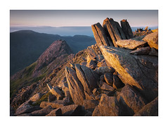 The Bristley Ridge - in explore (Dave Fieldhouse Photography) Tags: tryfan glyderfach glyders mountains mountain snowdonia wales gwynedd nationalpark rocks sunset dusk evening wildcamp wilderness cloud bristleyridge ogwenvalley ogwen peak mirrorless fujifilm fuji fujixt2 wwwdavefieldhousephotographycom