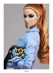 """I'm Foxy"" (L.Royalty55) Tags: fashionroyalty fr2 fr fr3 vanessa perrin metalmaven fashion integritytoys it doll toy"