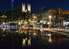 Guelph at night (Olivera White) Tags: guelph downtown nightphotography
