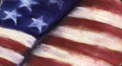 "Sunday afternoon devotional ""Glory"" 10x6 pastel on prepared surface #jestergraphix #jerseyshore #patriotic #artsinabsecon #atlanticcity #pastelpainting #america #usa #glory #godblessamerica #theprocess (jestergraphix) Tags: jestergraphix jerseyshore patriotic artsinabsecon atlanticcity pastelpainting america usa glory godblessamerica theprocess 52weeks2018"