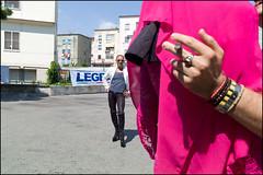 (Proud Poser With Cigar) (Robbie McIntosh) Tags: leicam9p leica m9p rangefinder streetphotography 35mm leicam autaut candid strangers leicaelmarit28mmf28iii elmarit28mmf28iii elmarit 28mm color pride pompei pompeipride lgbt removetheframe campaniapride cigar