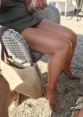 MyLeggyLady (MyLeggyLady) Tags: upskirt sex hotwife milf sexy secretary teasing minidress thighs cfm pumps stiletto legs heels