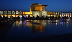 DSC09512 (Dirk Rosseel) Tags: aliqapu palace esfahan isfahan iran iranian persia persian bluehour nightphotography