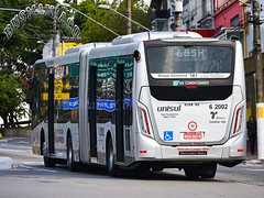 6 2002 TUPI - Transportes Urbanos Piratininga (busManíaCo) Tags: caioinduscar tupitransportes mercedesbenz tupi transportes urbanos piratininga millennium iv articulado o500ua bluetec 5