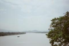 i'll never return again (ⓒ keico) Tags: travel hue vietnam klasses film river boat tree 2016