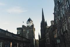 Up the alley (chmeechan1) Tags: edinburgh scotland city architecture landscape landscapes sky building buildings suburb town