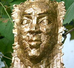 soleil 3 (origami joel) Tags: origami mask origamijoel