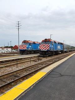 F40s at Waukegan
