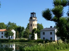Klocktornet i Forsmarks bruk (tompa2) Tags: klocktorn forsmark uppland sverige