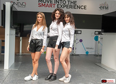 Move into the Smart experience (OkFoto.it/News) Tags: saloneautotorino parcovalentino hostess girl streetphoto turin autoshow motorshow