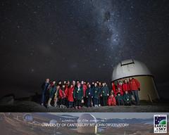 "15 July 2018 (Earth & Sky NZ) Tags: ""astronomy"" ""astrophotography"" ""mt john"" john observatory"" ""observatory"" ""university canterbury"" canterbury mt ""earth sky"" ""new zealand"" nz ""starlight reserve"" ""dark sky ""aoraki mackenzie international dark ""international darksky association"" ida ""mackenzie basin"" aoraki stargazing tekapo ""chris murphy"" group ""group photo"" people"