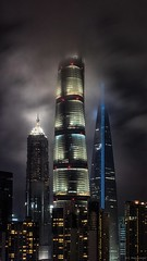 Pudong Skyline (Claus Preuschoff) Tags: cityscape skyline shanghai dramatic nikon d750 highcontrast