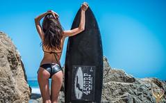 Black Surfboard 45SURF Trademark Logo Brand TM! Beautiful Bikini Swimsuit Model Venus! Tall Fitness Portrait Photoshoot! California Surf Girl! Pretty Brown Eyes! Nikon D800 E & AF-S NIKKOR 70-200mm f/2.8G ED VR II Zoom! Birth of Venus! Sexy dx4/dt=ic (45SURF Hero's Odyssey Mythology Landscapes & Godde) Tags: black surfboard 45surf trademark logo brand tm beautiful bikini swimsuit model venus tall fitness portrait photoshoot california surf girl pretty brown eyes sharp nikon d800 e afs nikkor 70200mm f28g ed vr ii zoom birth sexy hot dx4dtic