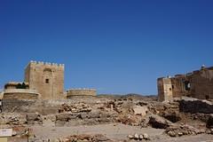 Alcazaba in Almeria, Spain (mattk1979) Tags: almeria sun outdoors city buildings spain europe old historic arab moorish alcazaba fortress sky clouds