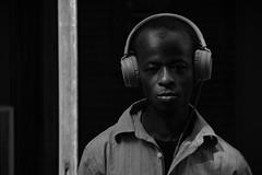 headphones (Claudia Merighi) Tags: people headphones blackandwhitephotos flickr portrait