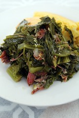 Southern-Style Mixed Greens (TravelTasTily) Tags: recipe recipes cook cooking food love yummy foodie homemade nom foodblog foodblogger foodgasm hungry yum delicious sidedish soulfood