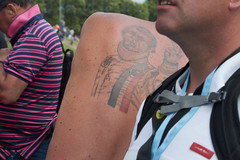 Only at Le Mans ! (Thibault Gaulain) Tags: lemans 24 24h 24hours du dumans h heures race course racing france d3200 sarthe motorsport wec endurance enduranceracing sportscars category traffic mcqueen tatouage tatoo voiture car auto wagen