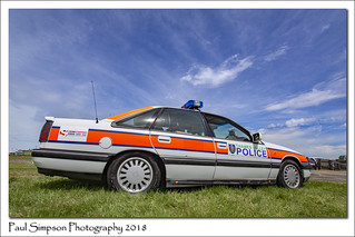 Vauxhall Senator Police Car