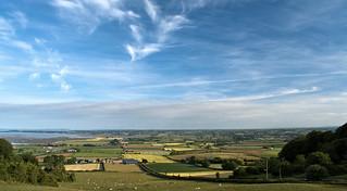 Landscape from Scrabo Hill, Newtownards