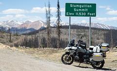 Slumgullion Pass (Jedi5150) Tags: bmwr1200gs bmw bmwmotorcycles slumgullionpass colorado rockymountains mountainpasses hwy149