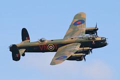 Lancaster (Treflyn) Tags: battle britain memorial flight bbmf raf royal force avro lancaster pa474 vnt cityoflincoln flypast shuttleworth flynavy air show