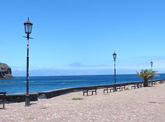 Látkép a Teidére (ossian71) Tags: spanyolország spain kanáriszigetek canaryislands gomera lagomera sansebastian tenger sea tengerpart coast tájkép landscape természet nature