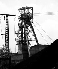 Wismut SGAG Schacht 384b (hilgers1944) Tags: ddr sdag wismut wismutsdag deutschedemokratischerepublik erzbergbau erzbergwerk uranbergbau uranbergwerk kopalniauranu uranium metalmine metalmining paitzdorf thüringen thuringia germany bergwerk bergbau schachtanlage zeche pütt fördergerüst förderturm mine mining mina mijn shaft pit pithead headgear headframe mineheads minewinder mineshaft mineshaftheadgear shaftmine shaftmining puitsdemines chevalement chevalementpuitsdemines chevalementdemine miningheritage industrialheritage miningengineering industrialhistory industry industrie industria kopalnia szyb dul pozo industrialdecay postindustrial endofindustry abandoned urbex bw blackandwhite blackwhite old history oldpicture oldphotographs bfv1 topf50
