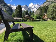 Vista Monte Bianco (biom73) Tags: alp montblanc summer italy montagna mountain