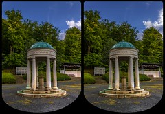 Bad Suderode Calciumquelle 3-D / CrossEye / Stereoscopy / HDRaw (Stereotron) Tags: sachsenanhalt saxonyanhalt ostfalen harz mountains gebirge ostfalia hardt hart hercynia harzgau calcium quelle spring well fountain kurort quietearth europe germany deutschland crosseye crossview xview pair freeview sidebyside sbs kreuzblick 3d 3dphoto 3dstereo 3rddimension spatial stereo stereo3d stereophoto stereophotography stereoscopic stereoscopy stereotron threedimensional stereoview stereophotomaker stereophotograph 3dpicture 3dimage hyperstereo twin canon eos 550d yongnuo radio transmitter remote control synchron kitlens 1855mm tonemapping hdr hdri raw 3dframe fancyframe floatingwindow spatialframe