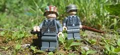 (SSG Album) Tags: lego brickarms minifigs minifigco wehrmacht german kar98 troops soldiers ww2