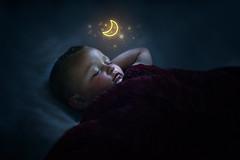 Jackson (LostinTranslationPhoto) Tags: baby cute family love 2yearsold sleep nap moon stars