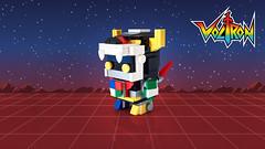 Voltron (curtydc) Tags: lego voltron ideas brickhead brickheadz brick head moc creation cute chibi kawaii toy 80s robot cat transformer anime custom