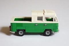 Volkswagen T1 DoKa (MOCs & Stuff) Tags: lego city town vw volkswagen t1 kombi bus transporter camper
