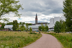 Helsinki, Finland (Ninara) Tags: helsinki finland architecture finlandiahall alvaraalto töölönlahdenpuisto park finlandiatalo