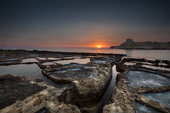 Xwejni salt-pans sunrise (glank27) Tags: xwejni gozo malta salt pans canon eos 5d mk iv karl glanville landscape sunrise mediterranean island qolla bajda sun ngc