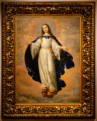 La Inmaculada Concepción, 1661 (Totugj) Tags: nikon d5100 inmaculada concepción francisco de zurbarán museo nacional bellas artes budapest buenos aires argentina