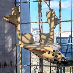 SpaceShipOne (PMillera4) Tags: spaceshipone nationalairandspacemuseum smithsonian washingtondc