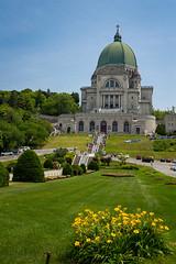 Saint Joseph's Oratory, view from the side (Yuliia Kriuchkova) Tags: basilica church architecture building summer montreal canada