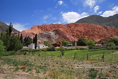 Purmamarca (blauepics) Tags: argentina argentinien jujuy province provinz provincia nord north andes anden landscape landschaft berge mountains purmamarca village dorf red rot green grün colours farben rocks felsen unesco world heritage site weltkulturerbe quebrade de huamhuaca