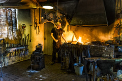 The smith (metsemakers) Tags: smit openluchtmuseum arnhem sony smith fire iron vuur ijzer a7ii