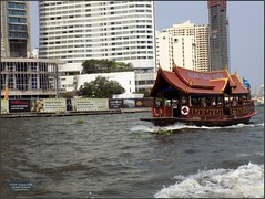 Thailand Bangkok River Ferry 20180128_110824 DSCN1947 (CanadaGood) Tags: asia seasia asean thailand thai ราชอาณาจักรไทย bangkok krungthep river chaophrayariver boat expressboat ferry hotel hilton construction building architecture canadagood 2018 thisdecade color colour
