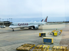 Qatar Airways –  Airbus A350-941 A7-ALA @ Philadelphia (AviatorTravis) Tags: philadelphia pennsylvania unitedstates a7ala