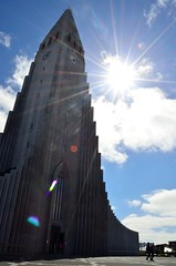 The Hallgrimskirkja, Reykjavik, Iceland (suttree140782) Tags: iceland island icelandic photography reykjavik city church kirche hallgrimskirkja architecture architektur guðjónsamúelsson sun sky summer