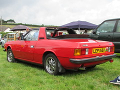 Lancia Beta Spyder 2000 LEP155X (Andrew 2.8i) Tags: show car cars classic classics gwili railway transport day bronwydd arms lancia beta 2000 spider spyder convertible cabriolet open sportscar sports italian