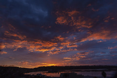 Sunrise at Merimbula 20th July 2018 (Mark Hollander) Tags: merimbula sunrise cloudsstormssunsetssunrises clouds lake sky