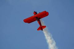 Vicky Benzing (linda m bell) Tags: hanger24 airfest airshow redlands airport california 2018 vickybenzing stearman n63529 biplane boeing aerobatics