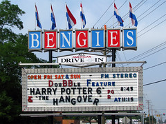 Bengies (Multielvi) Tags: bengies movie sign middle river maryland md baltimore county marquee roadside americana drivein