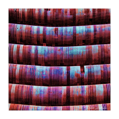 Colour tubes (PeteZab) Tags: colour colourised tube curve line tiedye psychedelic abstract peterzabulis square